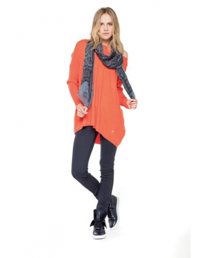Amy Gee - Fluo loose - Oranje - T-shirts