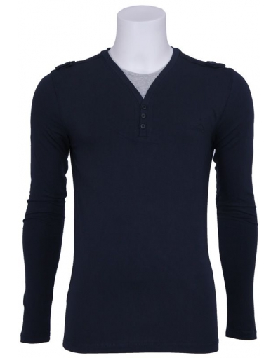 Antony Morato - V-hals - Blauw - T-shirts