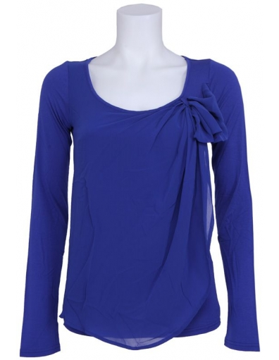 Dept - Longsleeve - Blauw - T-shirts
