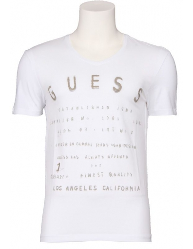 Guess - VN - Wit - T-shirts