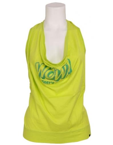 Amy Gee - Fluoriserend  - Groen - T-shirts