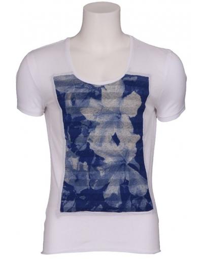 Antony Morato - Tropical night - Wit - T-shirts