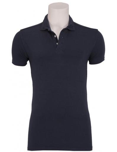 Zumo - Tommy stretch polo N - Zumo - T-shirts - Blauw