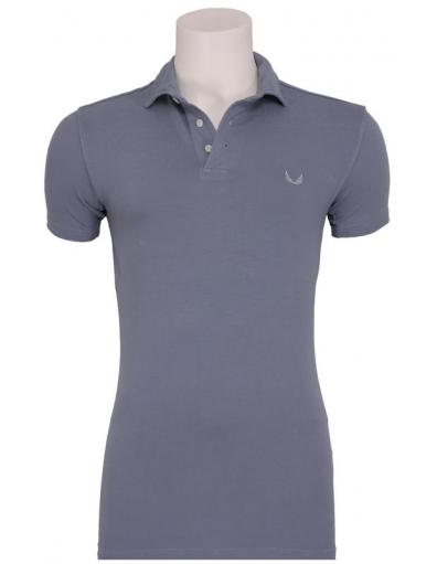 Zumo - Tommy stretch Polo I - Zumo - T-shirts - Blauw - Blauw - T-shirts