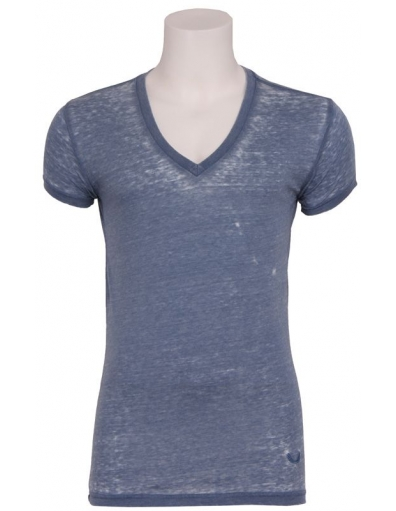 Zumo - Jimmy V-neck I - Blauw - T-shirts