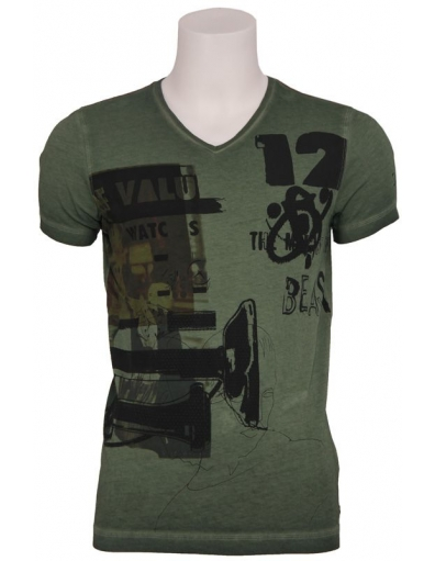 Pepe Jeans - VALUE - Groen - T-shirts