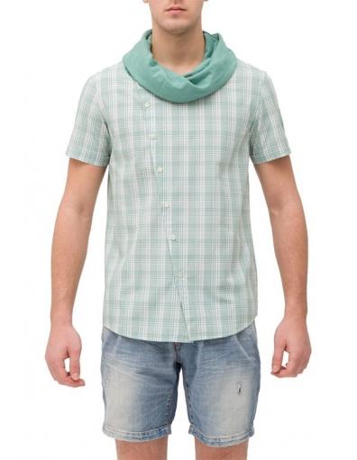 Antony Morato - Bollywood overhemd t-shirt - Groen -