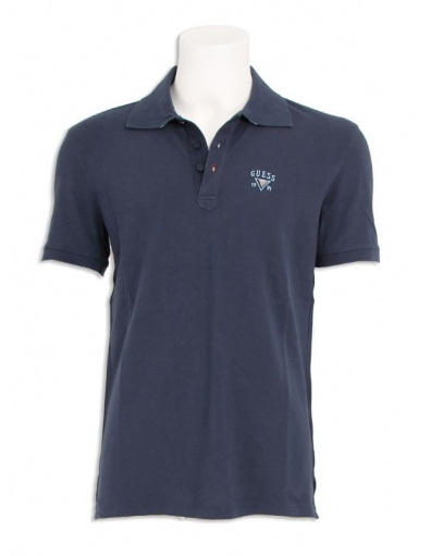 Guess - Embroidery - Blauw - T-shirts