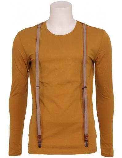 Antony Morato - 8004 REPORTER '70 - Geel - T-shirts