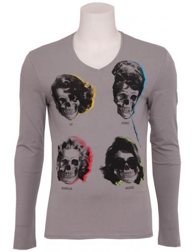 Antony Morato - 9008 MOVIE STAR - Grijs - T-shirts