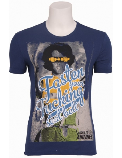Antony Morato - 7019 TRAVELLER - Blauw - T-shirts