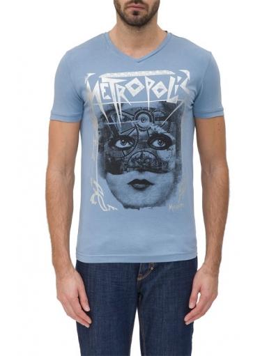 Antony Morato - 7024 METROPOLIS - Blauw - T-shirts
