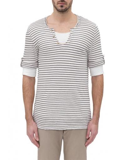 Antony Morato - WHITE SAINT TROPEZ - crème - T-shirts