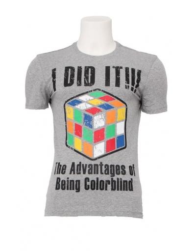 Antony Morato - Flash delerium - Grijs - T-shirts