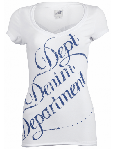 Dept - knitted top - Wit - T-shirts