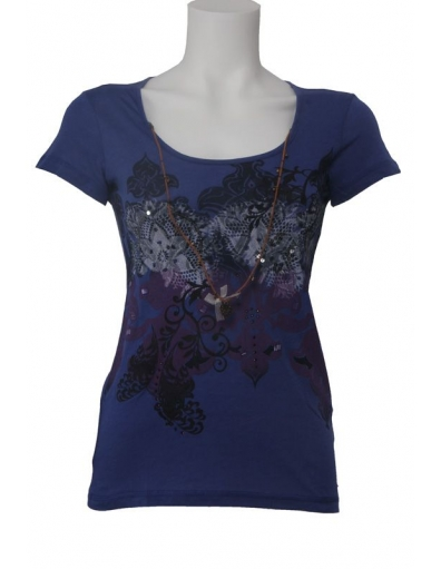 Dept - Lovely - Paars - T-shirts