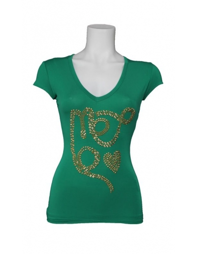 Met Jeans - Tavy - Groen - T-shirts
