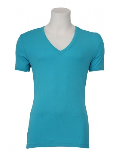 J.C. Rags - Stain - Blauw - T-shirts