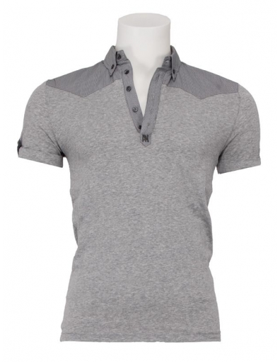 Antony Morato - polo - Cla Alternative - Grijs - T-shirts