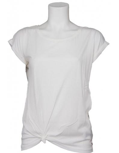 Guess - Farrah kant - Wit - T-shirts