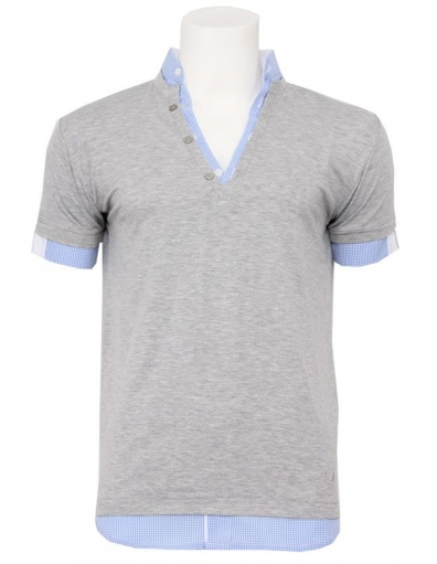 Zumo - Aquino - Grijs - T-shirts