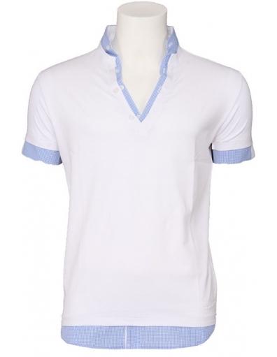 Zumo - Aquino - Wit - T-shirts