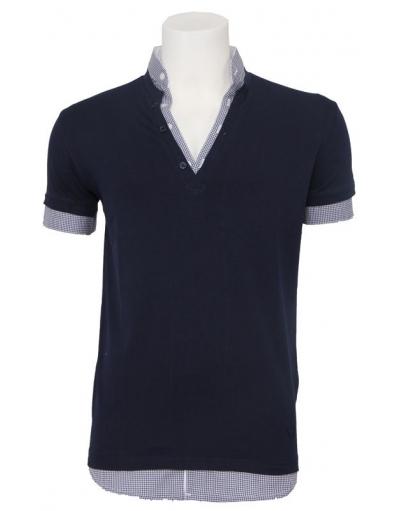 Zumo - Aquino - Blauw - T-shirts