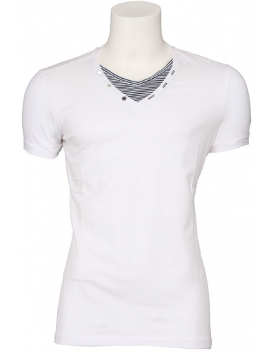 Energie - Cable - Wit - T-shirts