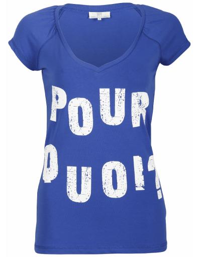 Dept - Pour Quoi - Blauw - T-shirts