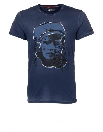 Pepe Jeans - Andy Warhol Foundation kowalski - Blauw - T-shirts