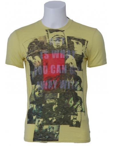 Pepe Jeans - Film Pineapple - Geel - T-shirts