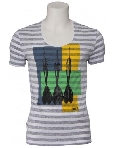 Antony Morato - Gestreept  - Wit - T-shirts