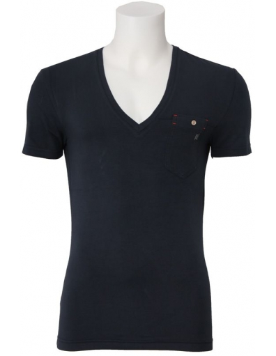 Antony Morato - v blue - Blauw - T-shirts