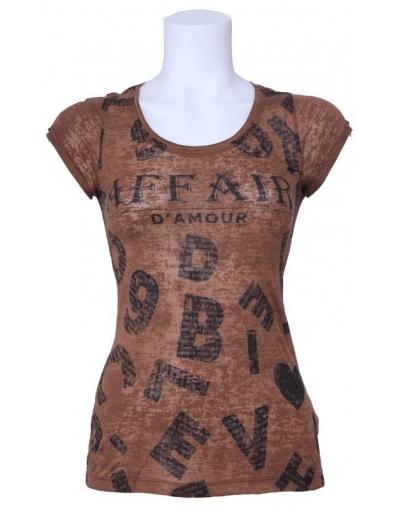 Dept - Letters - Mocca - Bruin - T-shirts
