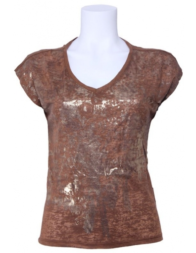 Dept - Gold - Mocca - Bruin - T-shirts