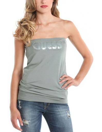 Guess - Edna top - Groen - T-shirts
