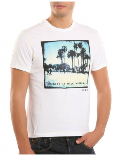 Guess - Someday - Wit - T-shirts