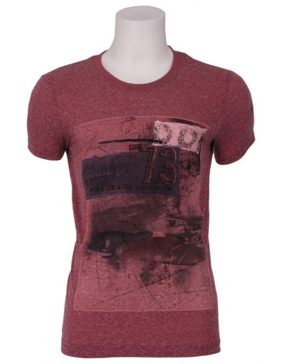 Pepe Jeans - Abingdon - Rood - T-shirts